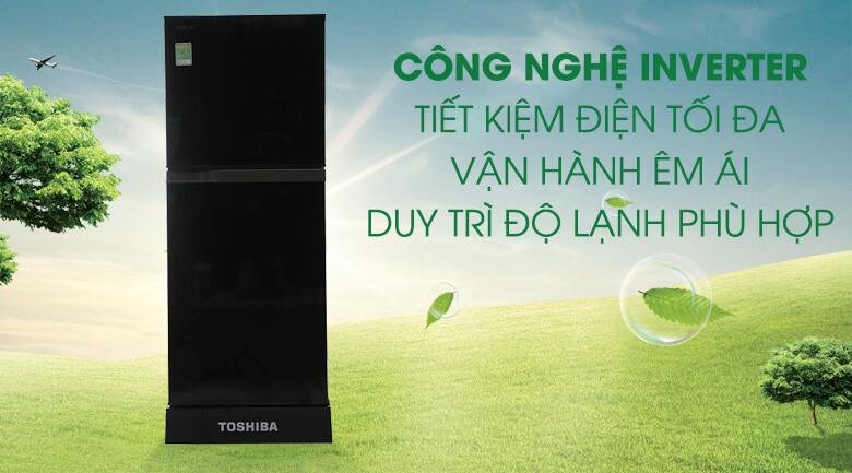 Tủ Lạnh Inverter Toshiba 186 lít GR-M25VMBZ(UKG)