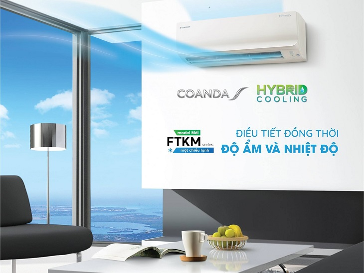 Công nghệ HYBRID COOLING trên máy lạnh Daikin