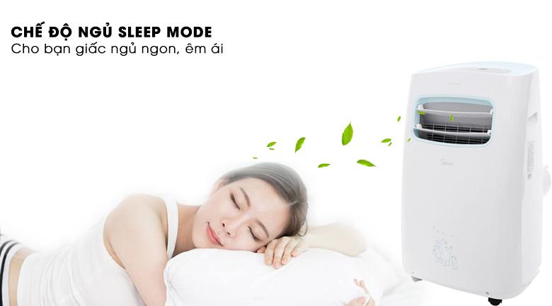máy lạnh mini có tích hợp chế độ sleep mode